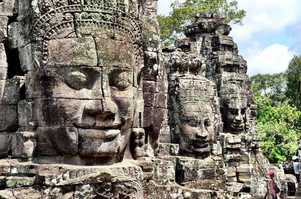 Angkor Tattoo Style and Angkor Wat Temple