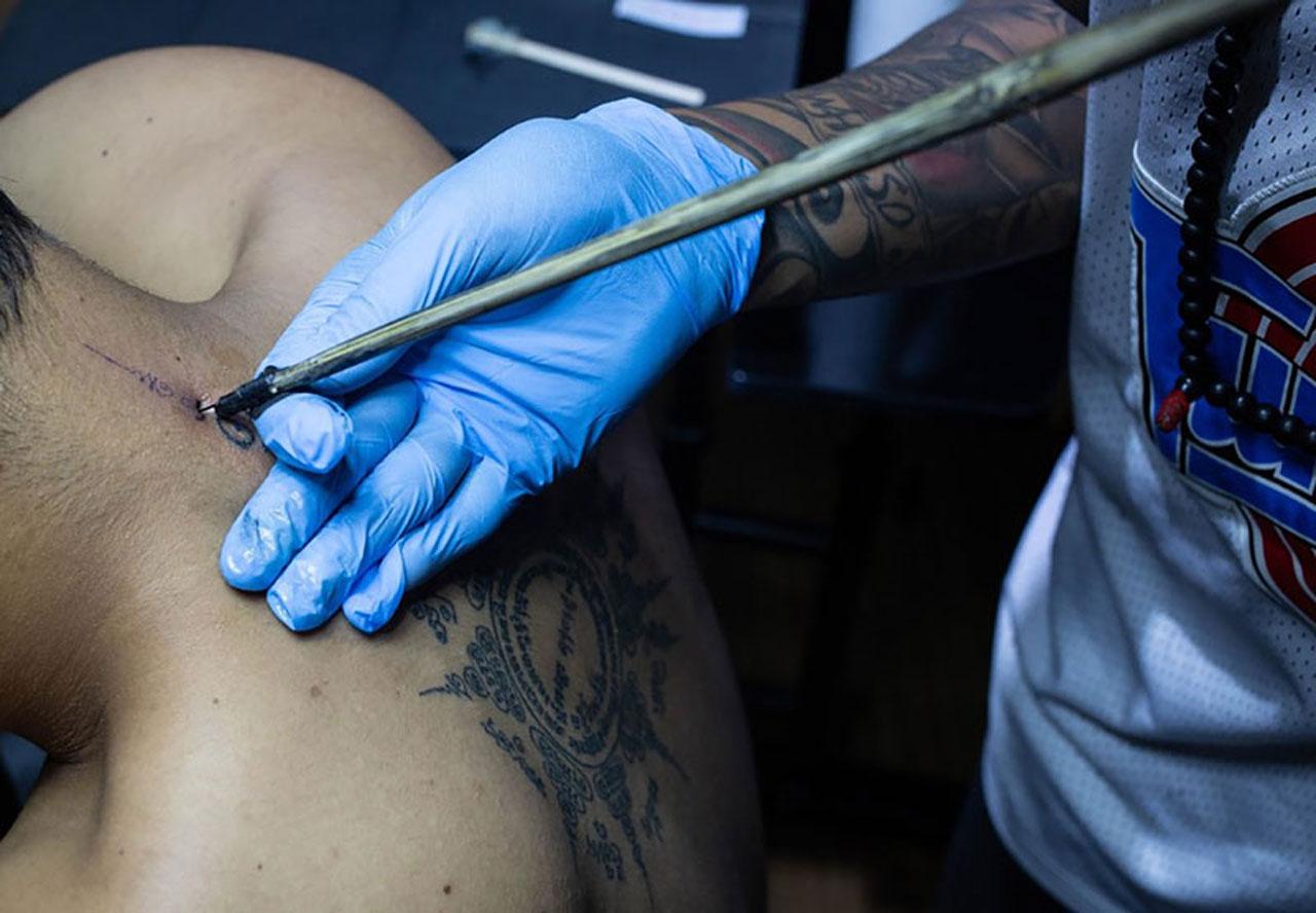 The History of  Bamboo Tattoo in Cambodia