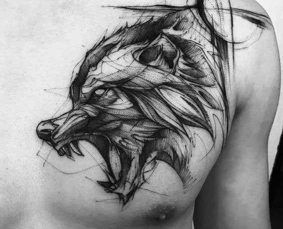 Line Work Tattoos Why Have Tattooing Styles Changed