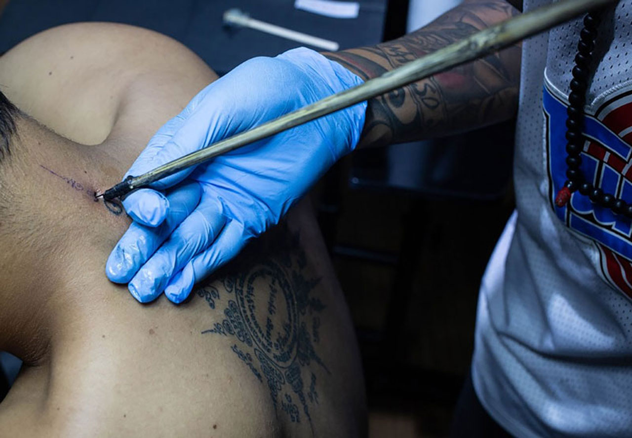 The History of  Bamboo Tattoo in Cambodia